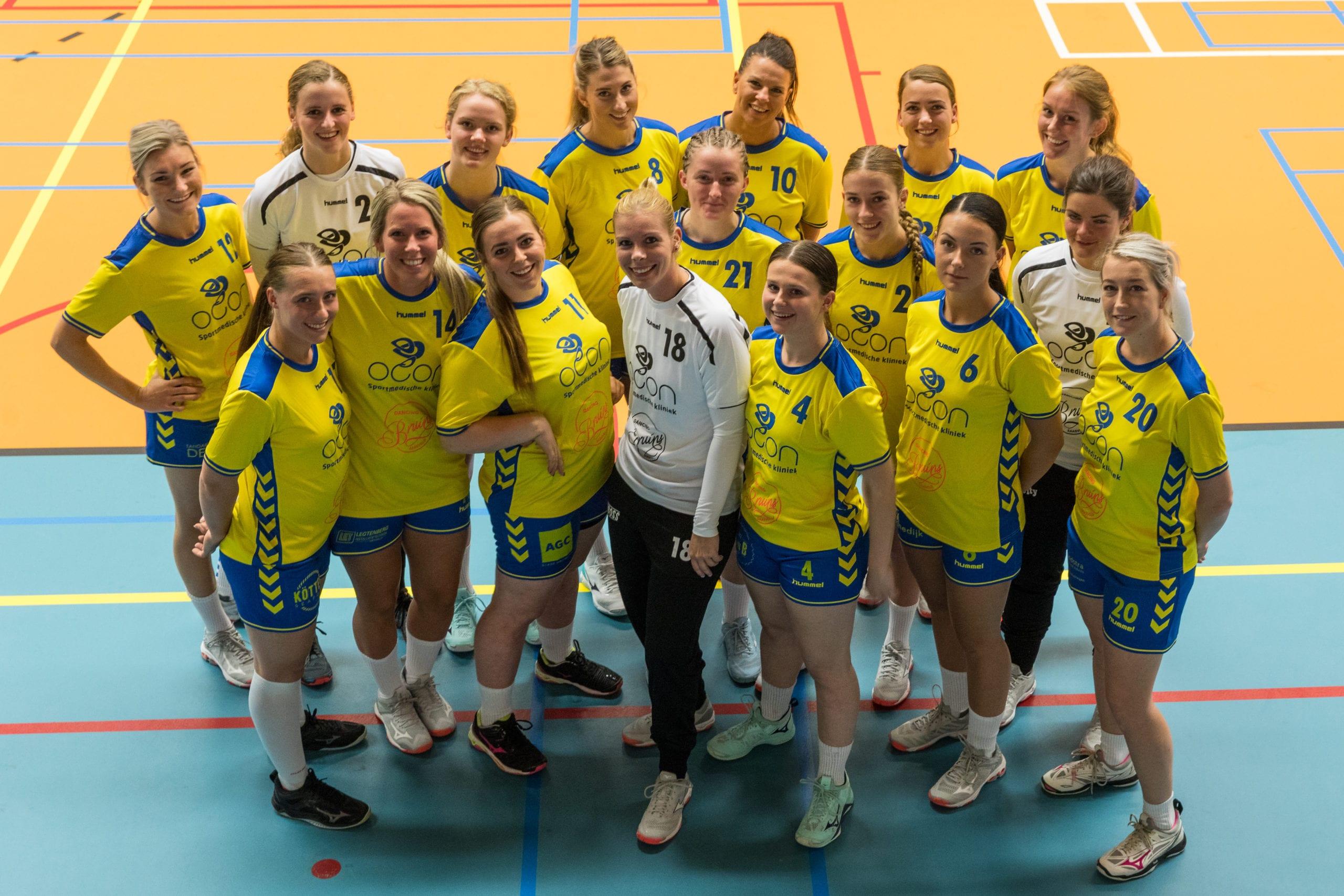 Teamfoto Borhave dames 1 2019/2020