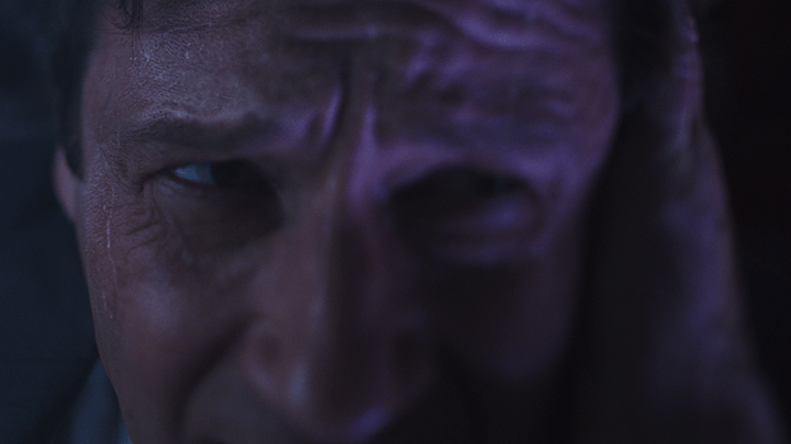 CVD VFX: finished shot using Mocha to track sweat from The X-Files