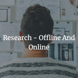 Research - Offline And Online