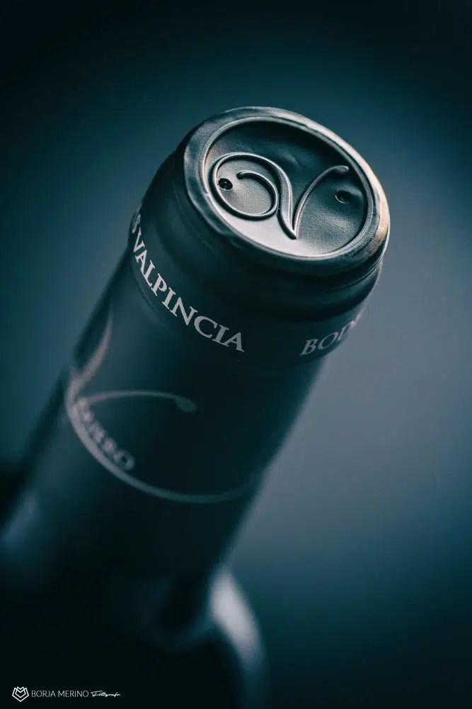 Fotógrafo de Botellas de Vino