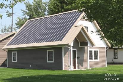 zero energy home post frame home