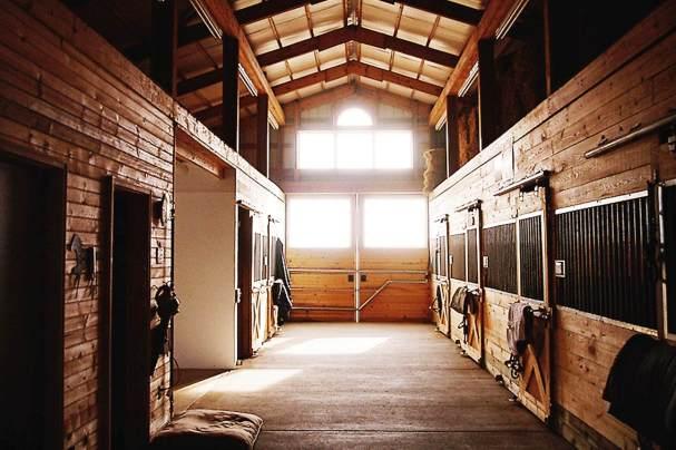 horse stall barn