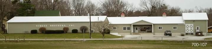 Post Frame Horse Farm