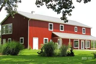 pole barn commercial building
