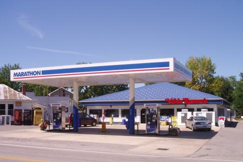 post frame marathon gas station convenience store