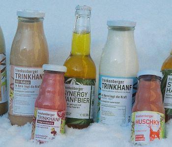 Trinkhanf von Frenkenberger hergestellt mit Bormia BIO Quellwassergenerator