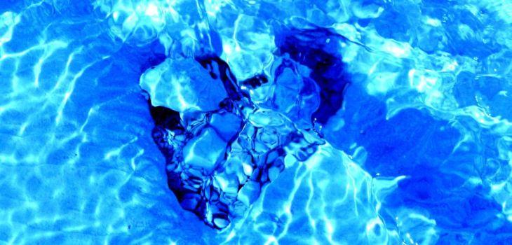 Wasservitalisierung mit Herz