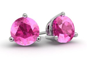 Born 2 Impress 2013 Must Have Products-DeBebians Fine Jewelry Pink Topaz Gold Earrings Review and Giveaway
