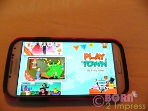 PlayTown  My Story Maker App/ Review