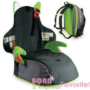 BoostAPak Belt-Positioning Booster Car Seat- Review and Giveaway