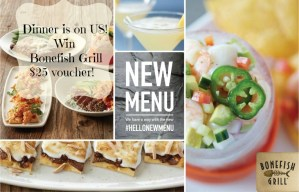 Dinner is on US- Try the New Bonefish Grill Menu|Giveaway