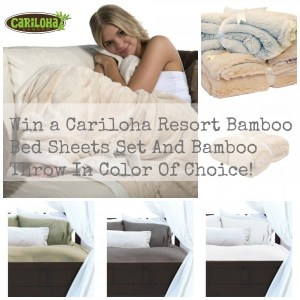 Experience The Luxury Of Cariloha  Bamboo Sheets With The Born 2 Impress Giveaway!