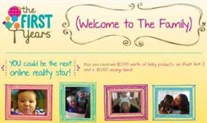 The First Years Welcome To The Family Contest!