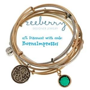 ZeeBerry Designer Jewelry Review and Discount Code!