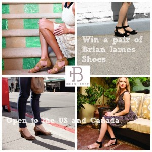 Brian James Wedge Pumps- Style and Comfort in One Shoe – Giveaway