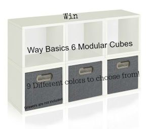 Get Rid of Clutter in Style with The Way Basics Storage Solutions!
