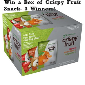 Crispy Fruit from Crispy Green are Tasty, 100% Natural, Non-GMO Snacks