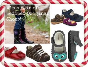 Born 2 Impress Holiday Gift Guide- Win a pair of pediped Shoes!