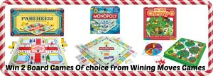 Born 2 Impress Holiday Gift Guide-Winning Moves Games Board Games for Family  Fun