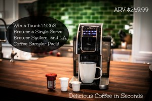 Born 2 Impress 2016 Must Have Products- Win a Touch T526S Brewer a Single Serve Brewer System with 7 Cup Sizes and Carafe Option!