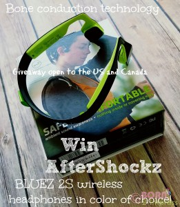 Experience the Next Generation of Wireless Headphones with the AfterShockz BLUEZ 2S with  Bone Conduction Technology