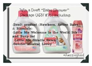 Dreft  #Amazinghood Baby Shower Giveaway!