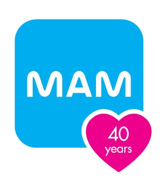 MAM-40-Years-Logo