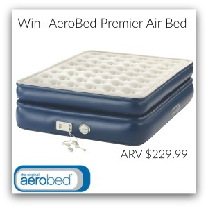 AeroBed Premier Air Bed Comfortable Extra Sleeping Space in a Matter of Minutes