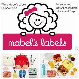 Mabel's Labels Mabel's Labels- Personalized Waterproof Name Labels and Tags Perfect for the New School Year