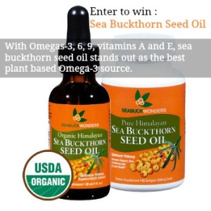 Boost your Immune System with the SeabuckWonders -Sea Buckthorn Seed Oil Giveaway and Discount Code!