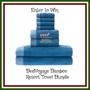 This Holidays Impress your Guests with the BedVoyage Bamboo  Resort Towel Bundles!