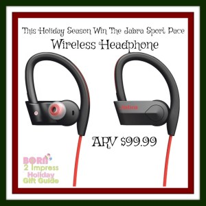 The Jabra Sport Pace Headphones- The Perfect Gift for the Fitness Lover on Your List!