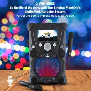 Meet the Singing Machine Carnaval Karaoke System – Portable Year Around Fun!
