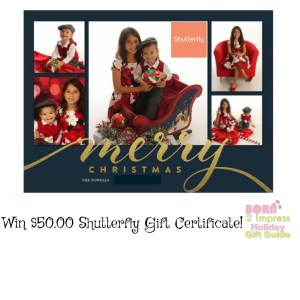 Born 2 Impress Holiday Gift Guide- Shutterfly $50.00 Gift Certificate Giveaway!