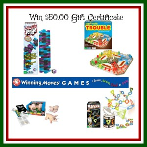 Winning Moves Games has all the Board Games on Santa's List!