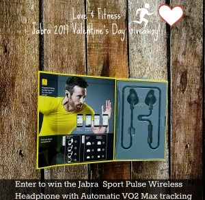 Just in Time for Valentine's Day -Win the  Jabra Sport Pulse with Automatic VO2 Max Tracking