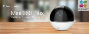 EZVIZ Mini 360 Plus- Full Room Coverage  with Easy Set Up- The Best Camera Option for Parents at an Affordable Price!