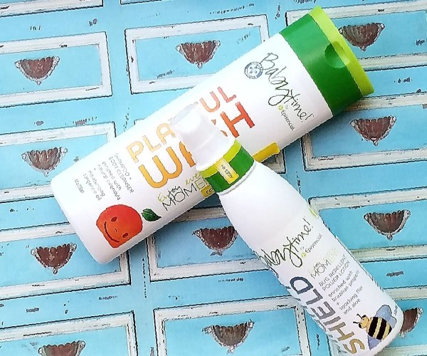 Babytime Mighty Sunscreen  and Baby wash