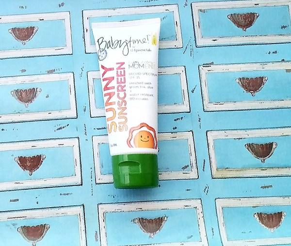 Babytime Mighty Sunscreen