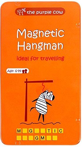 Purple Cow Magnetic Hangman Game