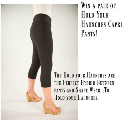 Win a Pair of the Hold your Haunches Capri Pants!