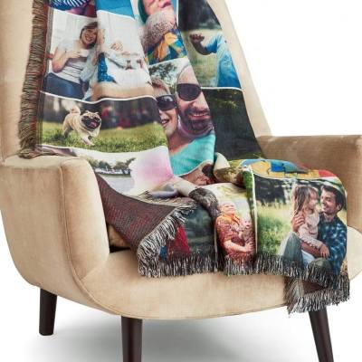 Born 2 Impress Holiday Gift Guide- Collage .com Custom Blanket Giveaway