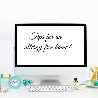 How to Have An Allergy Free Home For The Holidays