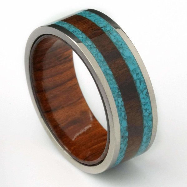 unconventional men wedding bands