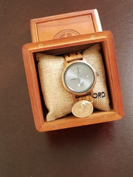 Jord Hyde Wood watch