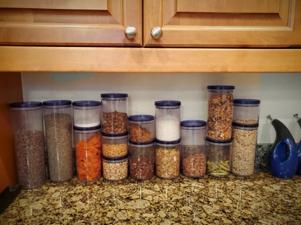 Storage canister facilitate prep time