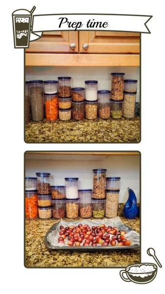 Keep your kitchen organized with storage containers