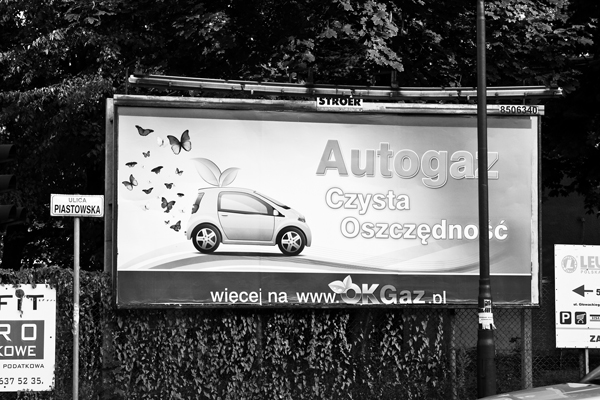 ekologiczny samochód na gaz