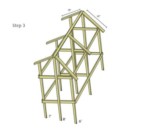 Tropical Chicken Coop Design Step 3
