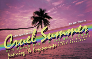 Friday (8pm): Cruel Summer 80s Dance Party (The Bell House - $10)